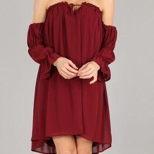 Lori + Mari Dresses - Brandywine Off the Shoulder Dress
